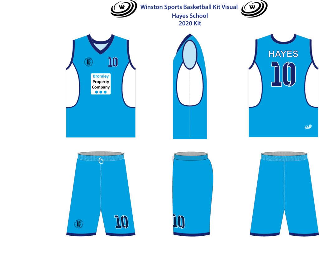 We're Sponsoring Hayes School Basketball teams!