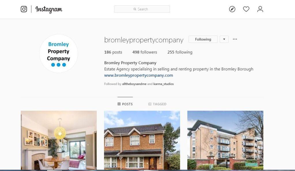 Bromley Property Company Social Media