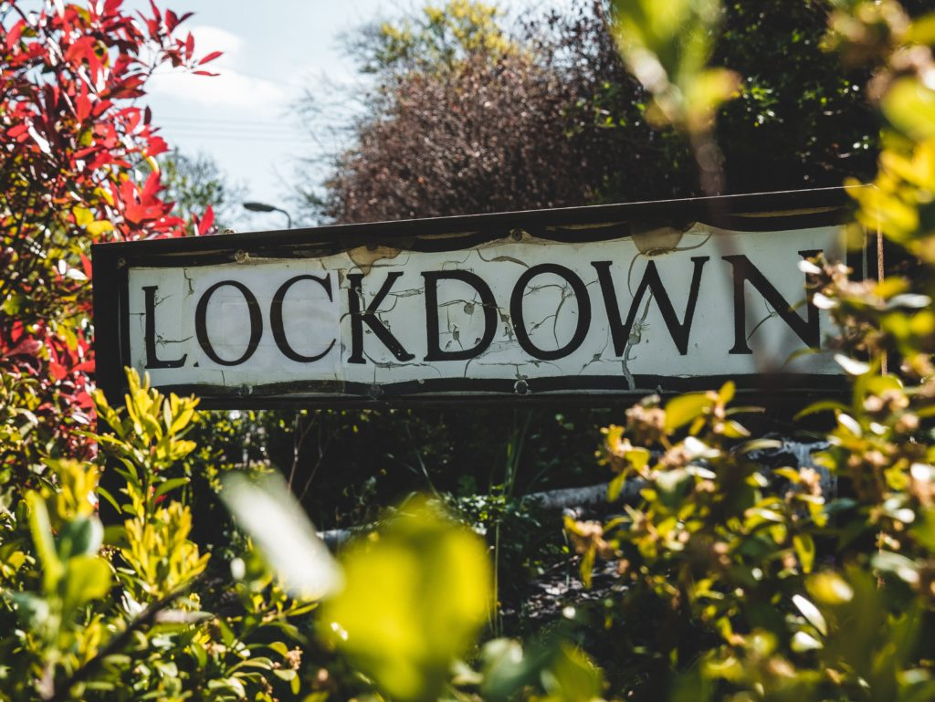 lockdown sign