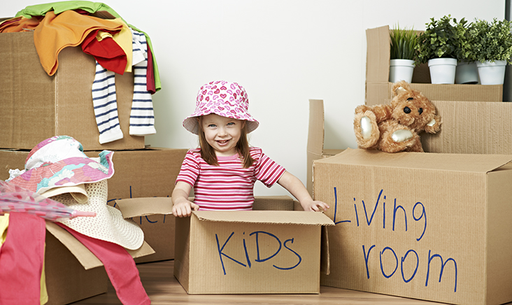 Tips for preparing your children for moving house