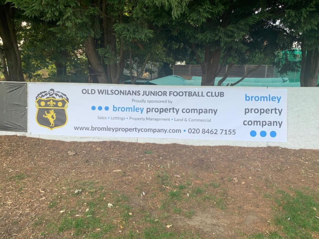 Sponsoring Old Wilsonians Junior Football Club!